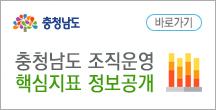 충청남도 조직운영 핵심지표 정보공개 바로가기