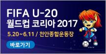 FIFA U-20 월드컵 코리아 2017 5.20~6.11 / 천안종합운동장 바로가기