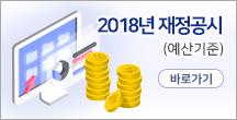 2018년 재정공시(예산기준)