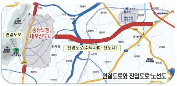 면적 995만㎡(300만평)…충남개발공사와 LH 분담 시행 3