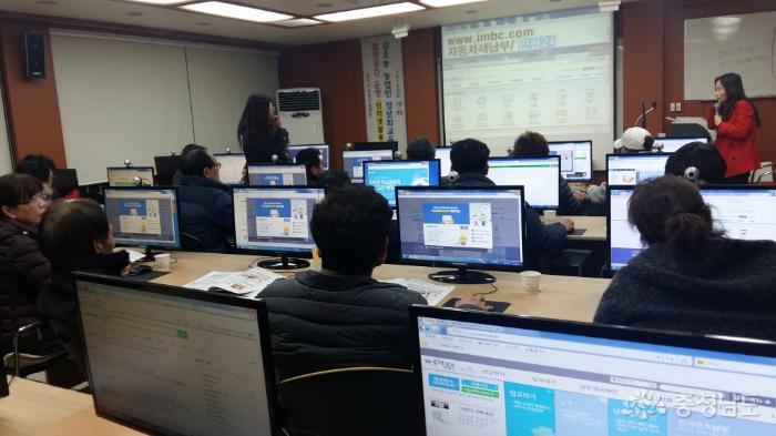 주경야독 농업인들… 정보화교육 열기 '후끈' 사진